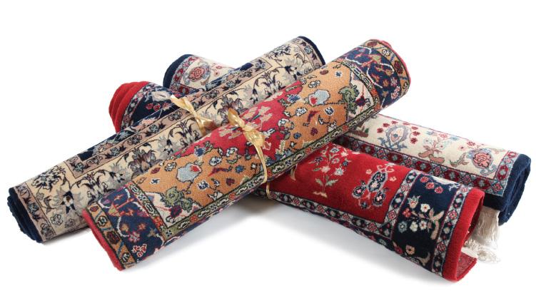 ウイグル手織絨毯