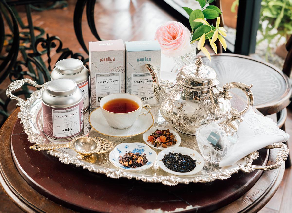 SUKI TEA(紅茶)コーナー