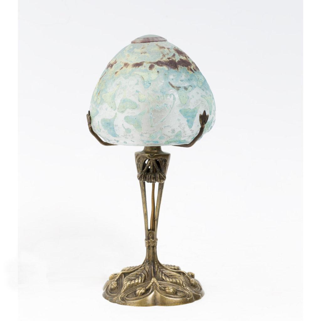 ドーム テーブルランプ<br /> 1900年頃 フランス<br />