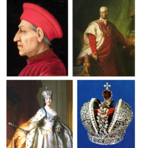 2.権力者の象徴・高貴な赤色