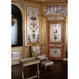8.フォンテーヌブロー宮殿のマリー・アントワネットのブドワール(私室)