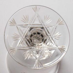 10.金彩グラスのステムの下の装飾