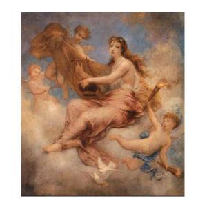 5.「愛の女神」エラトー