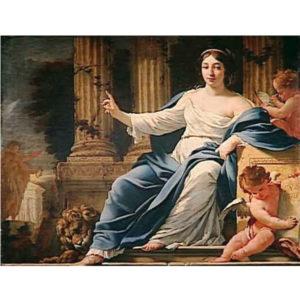 6.「英雄を讃える女神」ポリムニア
