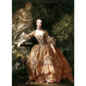 10.「ポンパドール夫人肖像」