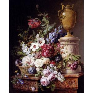 3.ヘラルド・ファン・スペンドンク(1746-1822)による静物画