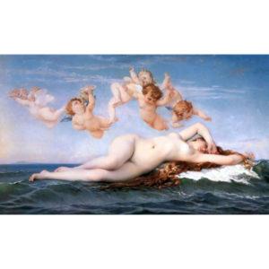 5.「ヴィーナスの誕生」カバネル作(1863年)