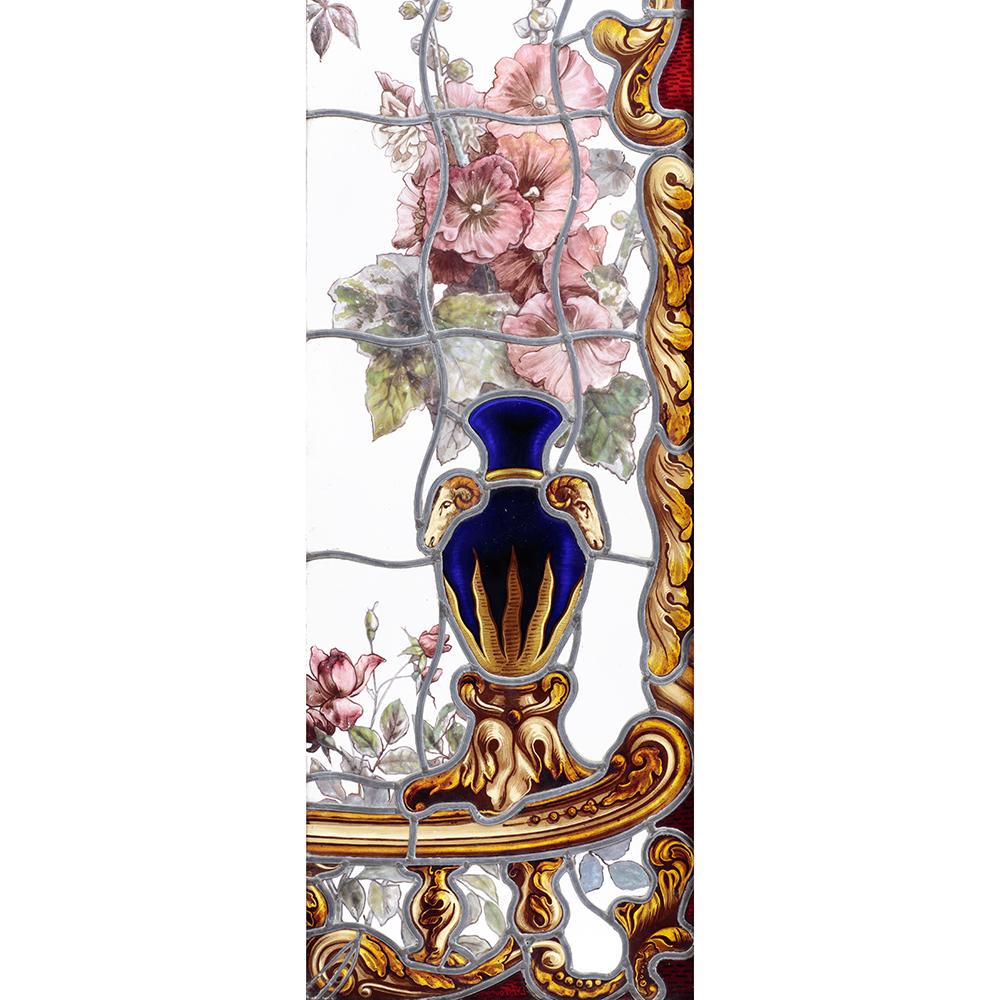ルイ15世様式 ブロンズ象嵌コモード
