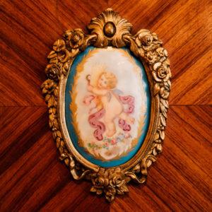 3.女神デーメーテール「天使」陶板